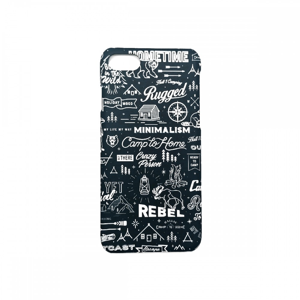 Iphone-Case-'Camp-to-Home'(Blue)