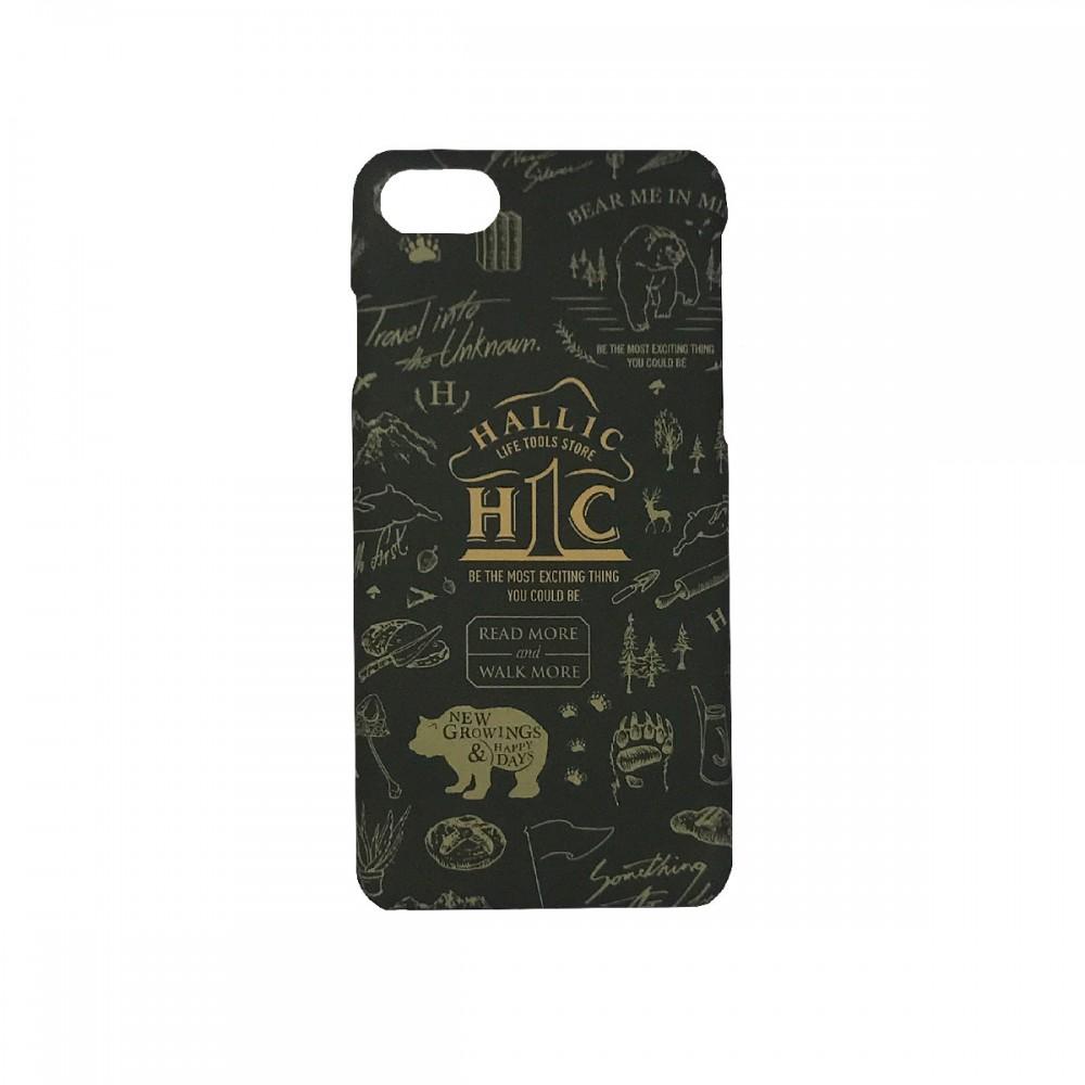 Iphone-Case-'hall1c'-green