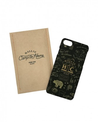 Iphone-Case-'hall1c'-green-withpacking