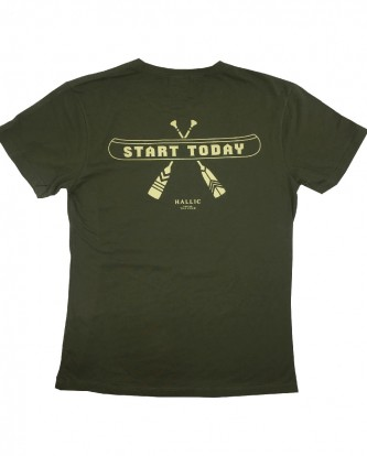 Tee(Start-Today-Green)-back