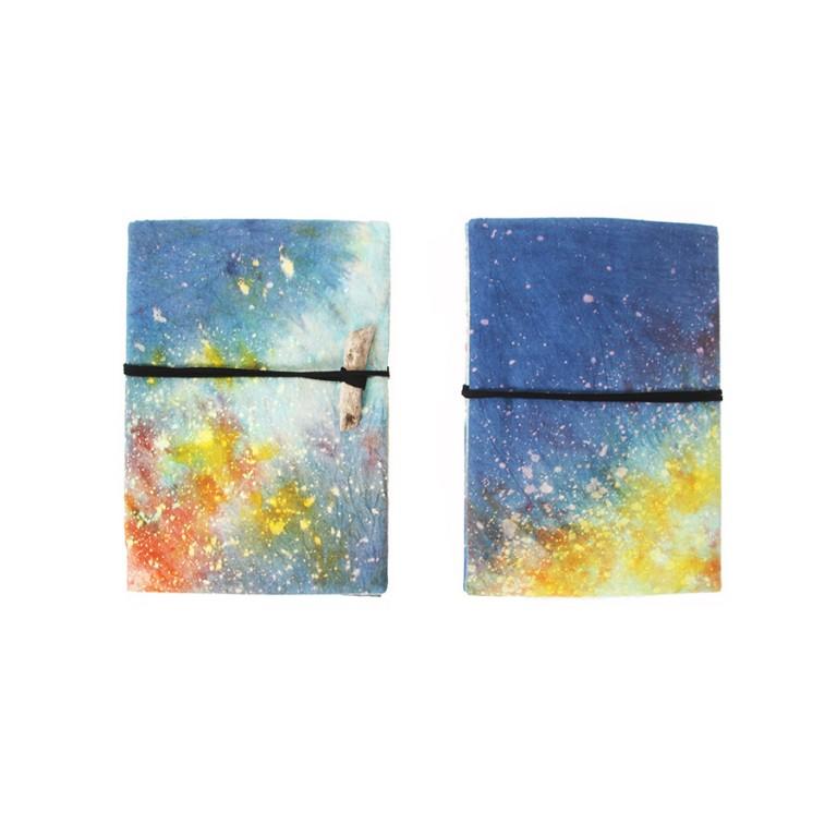 手染銀河筆記本套(1)